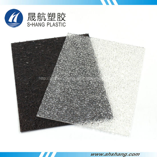 Quality Diamond Polycarbonate PC Embossed Sheet (SH17-SD02) pictures & photos