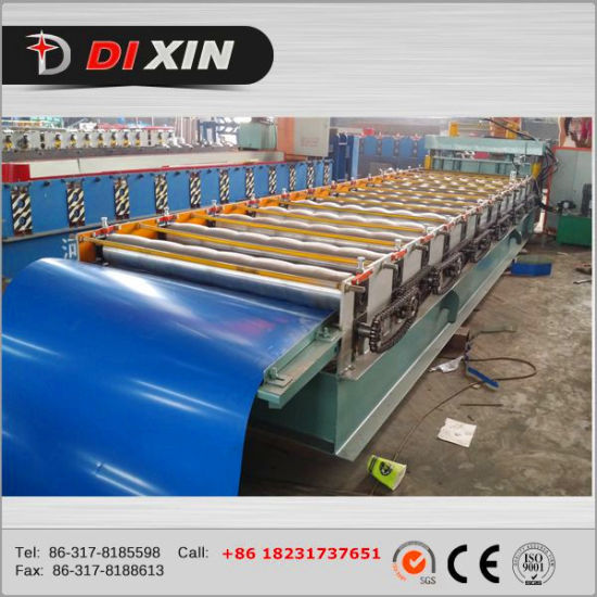 460 Standing Seam Roll Forming Machine , Profile Roofing