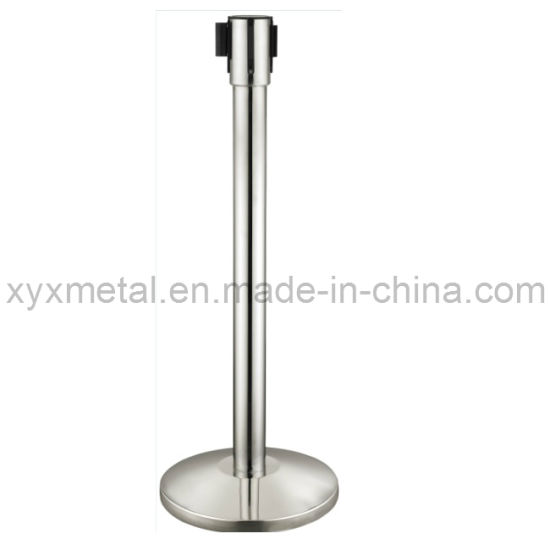 Mobile Retractable Belt Barriers Movable Stainless Steel Fence