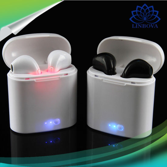 Wireless Bluetooth in-Ear Invisible Earphone with Charger for iPhone pictures & photos