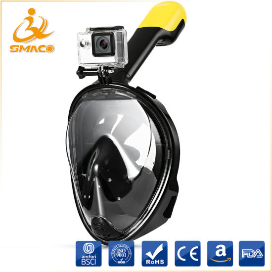 Made-in-China 180 Degree Full Face Snorkel Mask