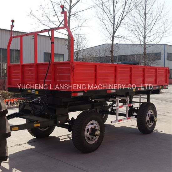 Tractor Transporter Farm Ranch Trailer Cheap Price and High Quality
