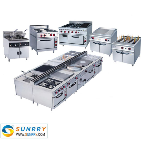 High Quality Commercial Stainless Steel Restaurant Kitchen Equipment And Fast Food Equipment In China For Sale