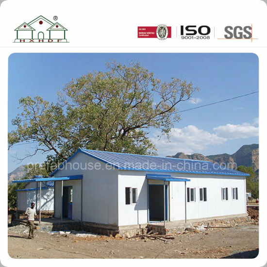Factory Cheaper Modular Light Steel Structure Prefabricated Sandwich Prefab House for Dormitory/Office