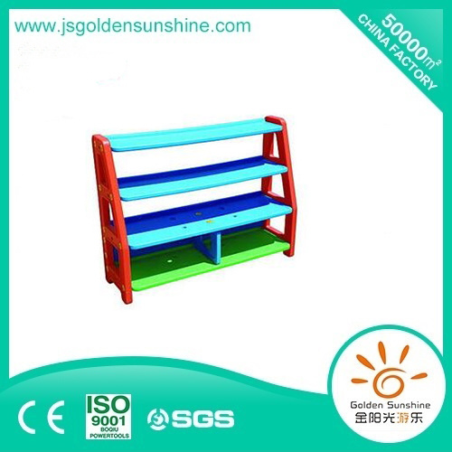 Children's Plastic Toy Collecting Shelf storage Cabinet with Ce/ISO Certificate