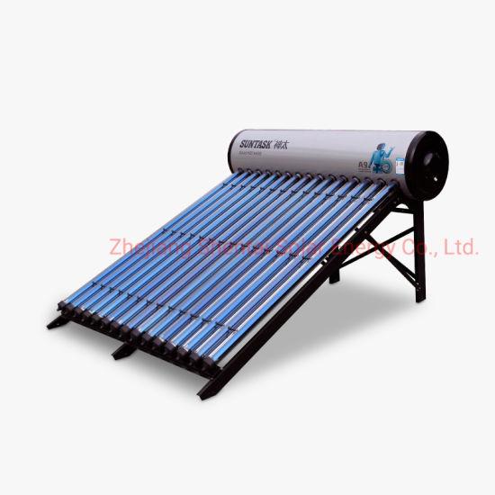 Solar Keymark Certified Heat Pipe Compact Pressurized Solar Water Heater