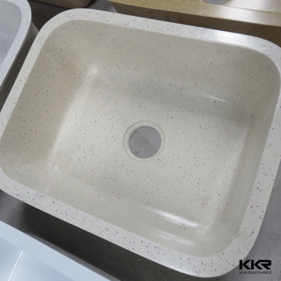 China Kitchen Accessories Solid Surface Double Bowl Kitchen Sink ...