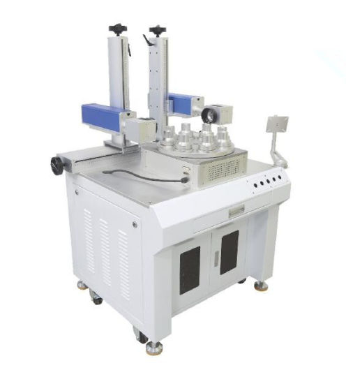 Multi-Station Lamps Marking Cabinet for Laser Marking