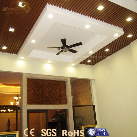China Indoor Designed Fire Resistance Pvc Ceiling For Sale