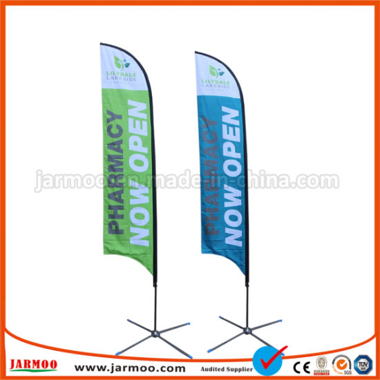 Digital Printing Feather Flag Flying Banner pictures & photos