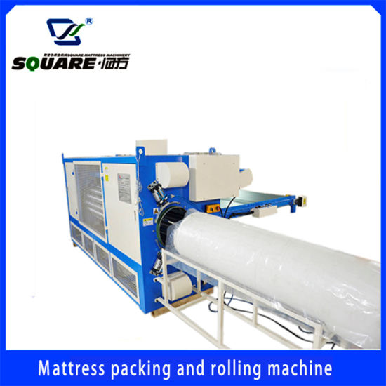 Mattress Compressing and Rolling Machine Automatic