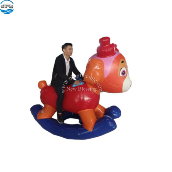 Nbct-039 Custom Air Tight Giant Inflatable Shaking Dog Animal for Kids and Adults