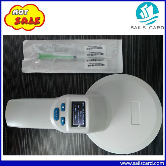Handheld RFID Animal Reader/Scanner for Ear Tag/Microchip pictures & photos