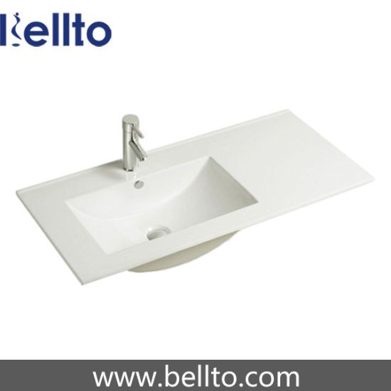 100cm Left Hand Bathroom Vanity Top