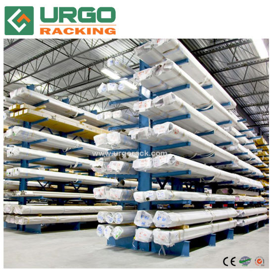 Cargo Storage Heavy Duty Cantilever Rack Cantilever Racking System