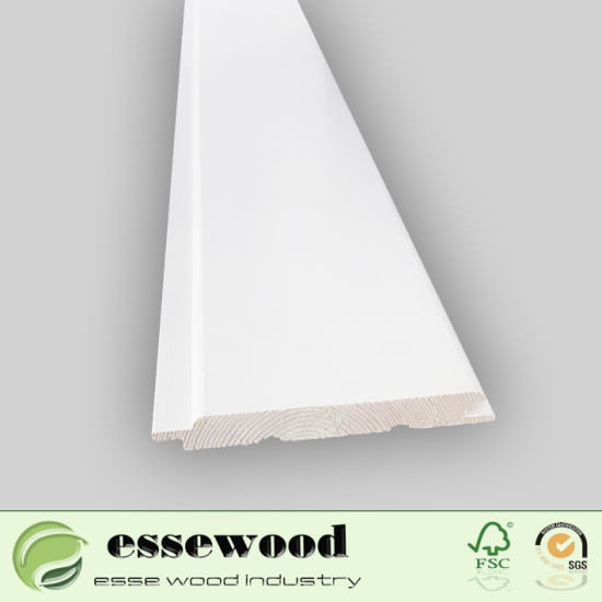 Waterproof Wall Paneling Finger Joint Board Wall Panel Wooden Chair Rail