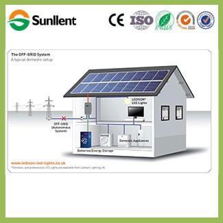 China 96V8000W off Grid Home Solar Kits Solar Panel Energy