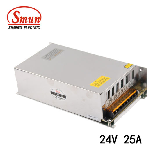 China Smun S-600-24 24VDC 25A 600W Switch Mode Power Supply SMPS ...