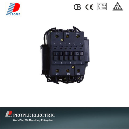 Switching Capacitors AC Contactor Capacitor Contactor for Power Factor pictures & photos