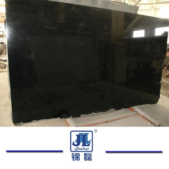 Polished Shanxi Black Granite for Floor Tiles Countertops Tombstone Paving Stone