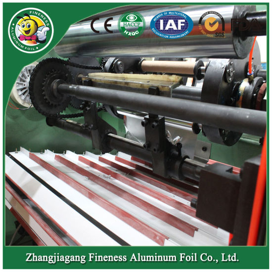 New and High Efficient and Quality Aluminum Foil Rewinding and Cutting Machine pictures & photos