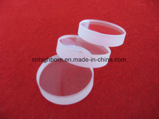 High Purity Polishing Jgs1 Jgs2 Clear Quartz Lens for Semiconductor pictures & photos