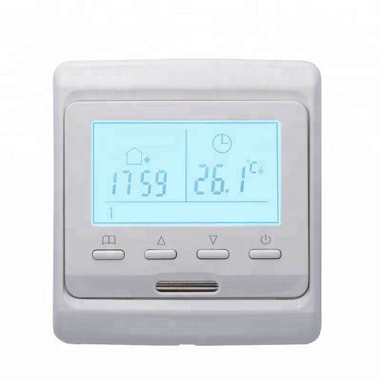 Smart Digital Heated Floor Thermostat by 230VAC with Programmable Settings