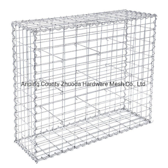 China 4.0mm Galfan Wire Welded Gabion Basket Amazon Low Price pictures & photos