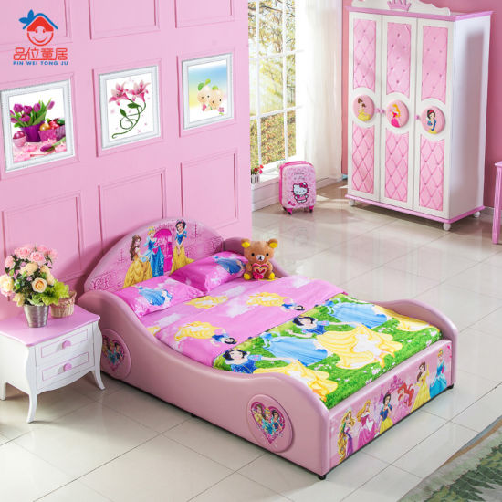 Princess Children Bed Kids Bedroom Furniture - China ...