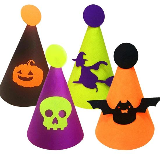 Halloween Party Supplies Children Felt Cloth Hat Bar Nightclub Halloween Decorations pictures & photos