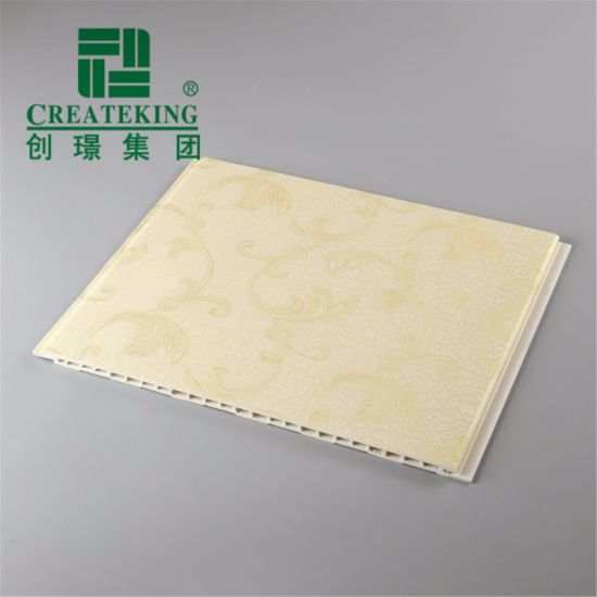 Durable WPC Interior Decoration Ceiling Soundproof and Fireproof PVC Panel