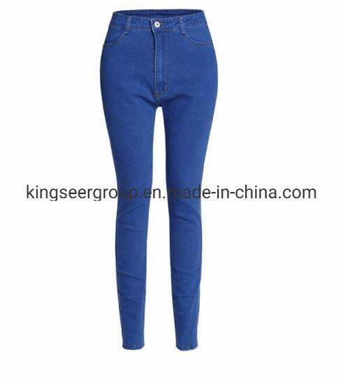 2019 New Design Hot Sale Fashion Women/Ladies Skinny Denim Jeans Ks-D009