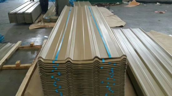 South America PPGI Hot DIP Galvanized Trapezoidal Roofing Sheet pictures & photos
