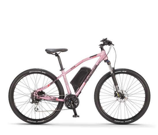 Wholesale 27.5'' Aluminum 36V 250W Lithium Pink Mountain Electric Bike