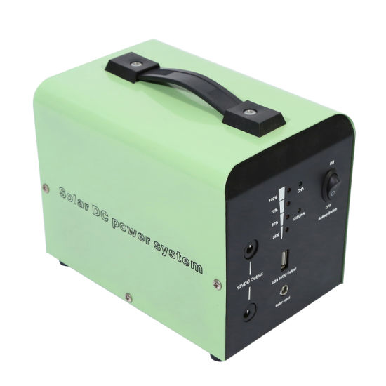 Dl-7ah Small DC Portable System for Lighting and Phone Chager
