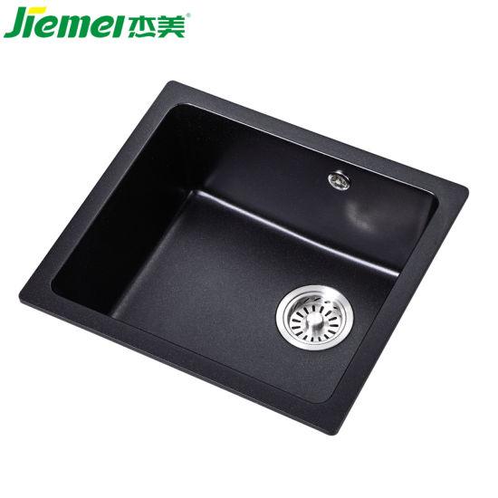 Single Bowl Undermount Uink Quartz Stone Kitchen Sink