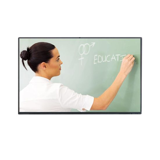 65 75 Inch Electronic Touchscreen Educational Conference Touch Price All in One LCD Smart Board Portable Interactive Whiteboard