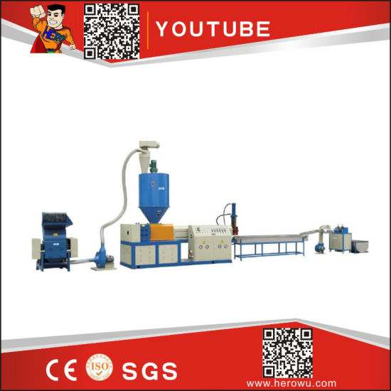 Hero Brand Automatic PE PP Plastic Films and Woven Bags Washing Production Dryer Equipment Recycling Machine