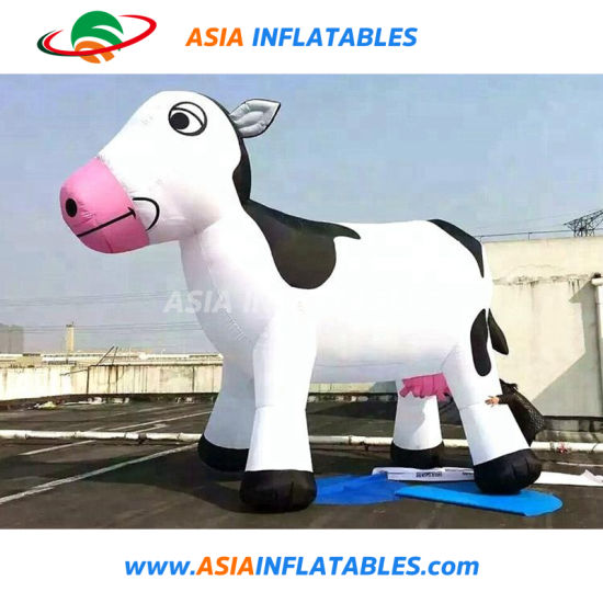 Lovely Color Giant Inflatable Cow/Inflatable Balloon for Promotion/Party pictures & photos