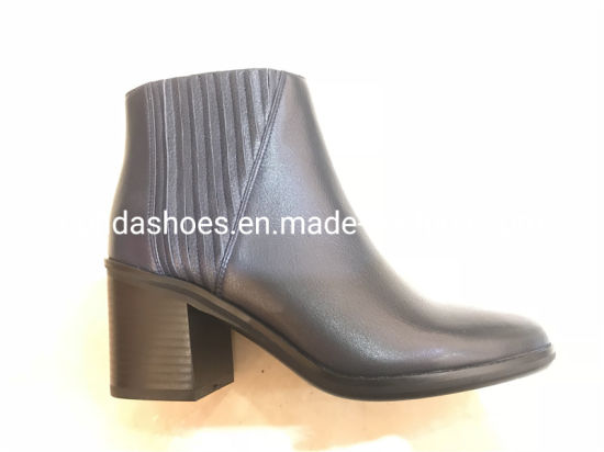 19655984c4c0d New Comfort Heels Leather Lady Boots for Fashion Women pictures & photos