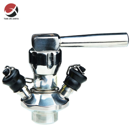 OEM Manufacturer Precision Casting Customized DIN/JIS/ANSI Standard Hygienic Stainless Steel Sterile Aspetic Pharma Sampling Valve Used in Laboratory Equipment