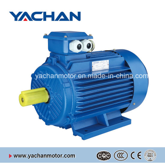Ce Approved 0.12kw-315kw Y2 Series Three Phase Asynchronous Electric Motor AC Motor Induction Motor for Water Pump, Air Compressor, Gear Reducer Fan Blower