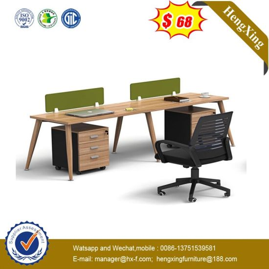 Foshan Melamine Laminated Modular Partition Desk Office Workstation pictures & photos