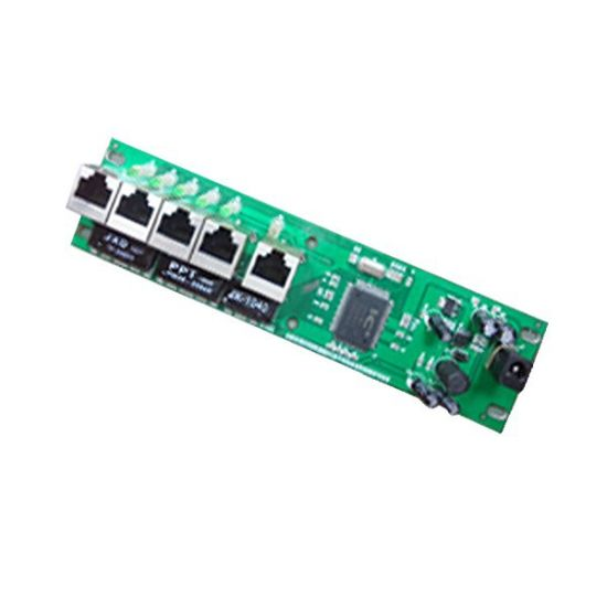 Electronic Network Switch Board PCB Assembly, PCBA with UL and RoHS