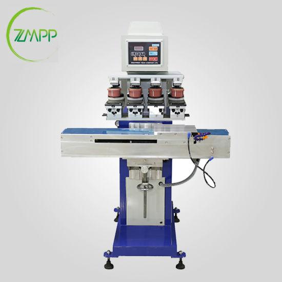 Four Color Spectacle Case Pad Printer /Glass Boxes Printing Machine  /Plastic Box Pad Printer