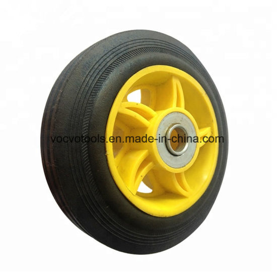 6 Inches Solid Rubber Wheels
