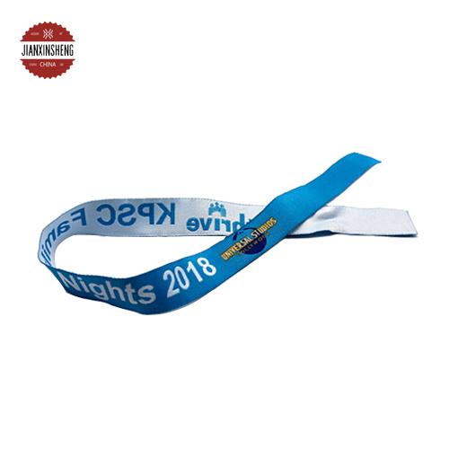 New Design Sublimation Printing Polyester Fabric Elastic Wristband, Fabric