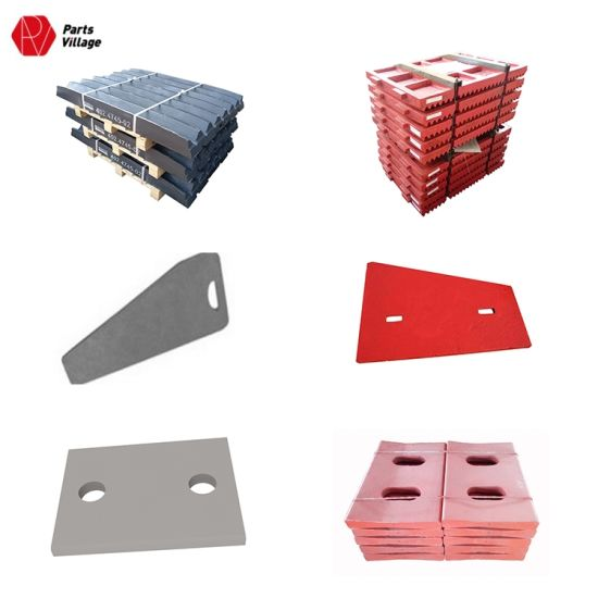 High Manganese Casting Jaw Plate Toggle Plate and Cheek Plate for Crusher Wear Parts pictures & photos