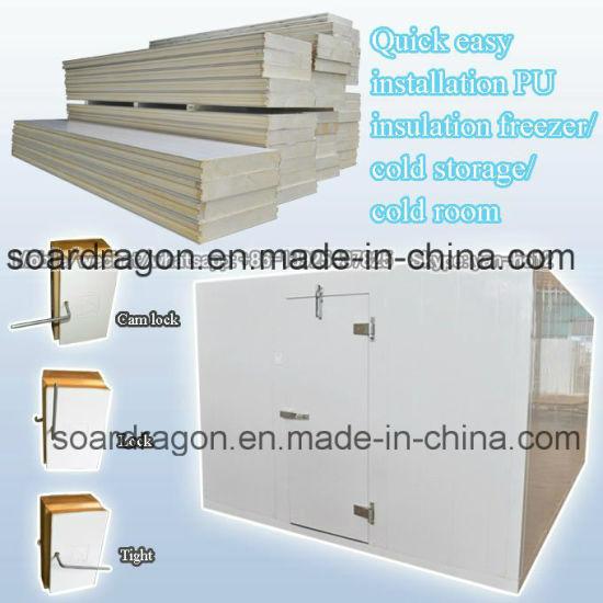 Quick Easy Installation PU Insulation Freezer/Cold Storage/Cold Room  sc 1 st  Foshan City Shunde District Soardragon Kitchenware Ltd. & China Quick Easy Installation PU Insulation Freezer/Cold Storage ...