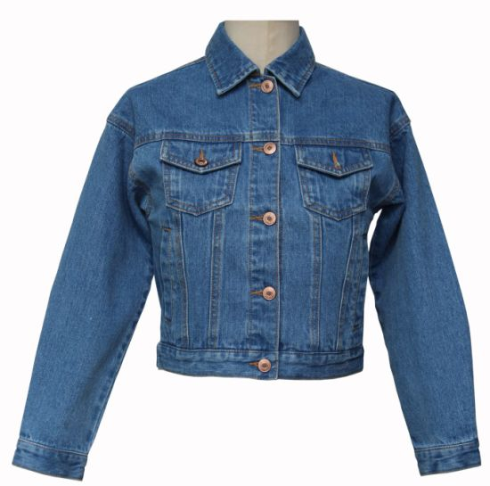 Basic Style Kids Denim Outwear Denim Jacket